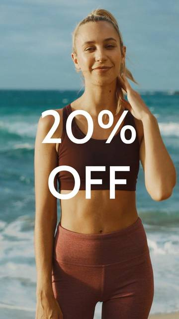 Your 20% Off